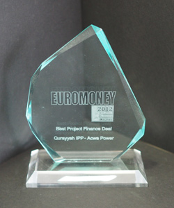 BEST PROJECT FINANCE DEAL EURO-MONEY 2012