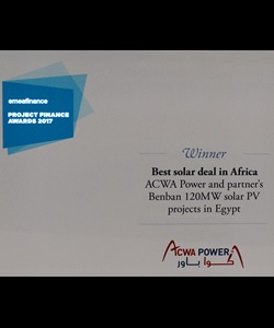 Best Solar Deal in Africa, 2017