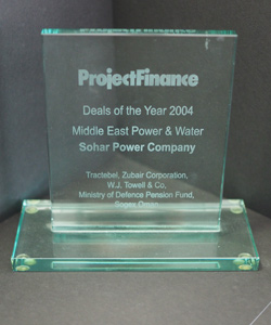 DEAL OF THE YEAR PROJECT FINANCE 2004