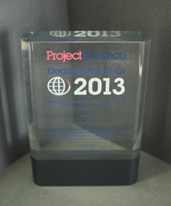 SOLAR DEAL OF THE YEAR NOOR 1 PROJECT FINANCE 2013